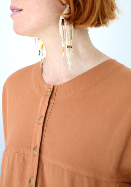 Lindsay Robinson Beryl Jumpsuit - CLAY