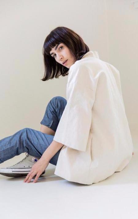 Hygge + Oak Common OC Kimono Jacket - Canvas