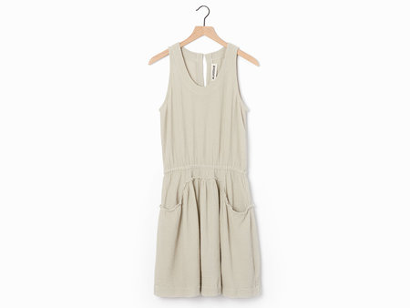Alasdair Etta Dress - Oyster