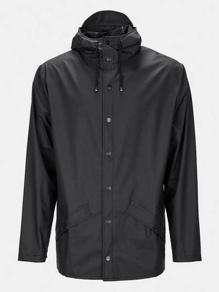 Unisex Rains Jacket - Black
