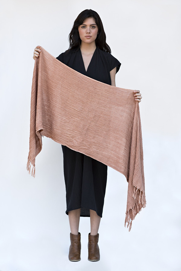 Fair Trade Hand Woven Cutch Cotton Wrap