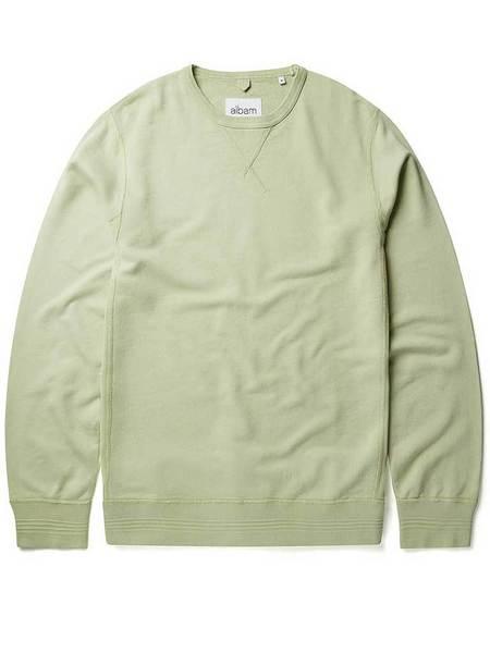 Albam 196 Classic Sweatshirt - Pistachio