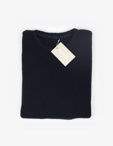 SIMON&ME The Knitted Sweater - navy