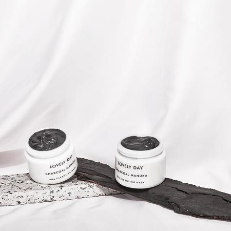 lovely day Charcoal Manuka Cleansing Mask - 100ml