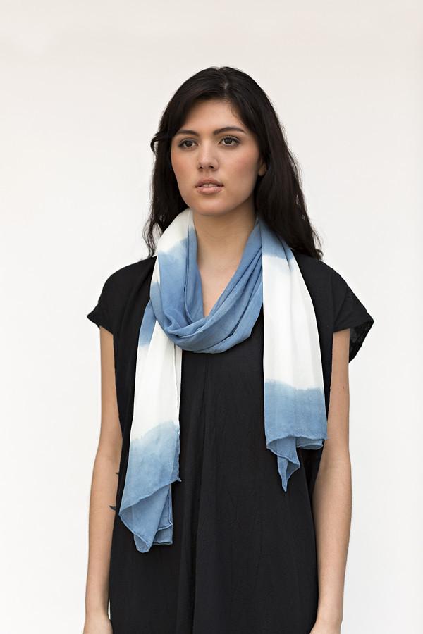 Miranda Bennett Organic Stripe Silk Rectangle