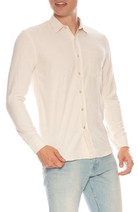 Our Legacy Raw Silk Shirt - WHITE