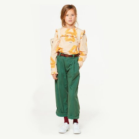 Kids The Animals Observatory Gadfly Blouse - rose triangles