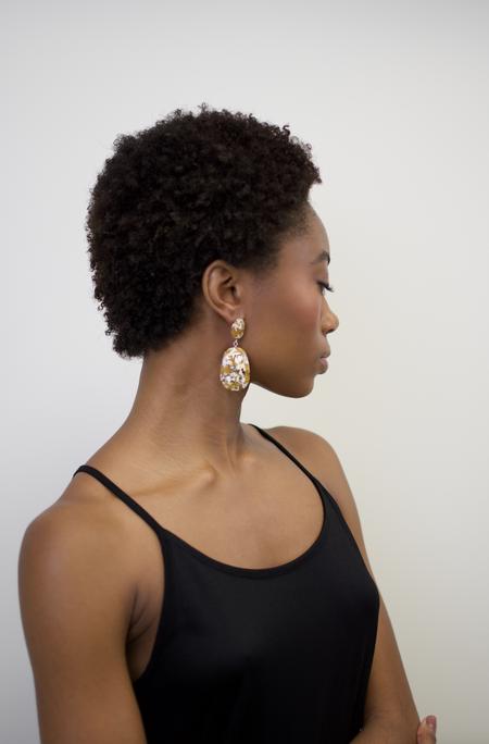 Machete Grande Drop Earring