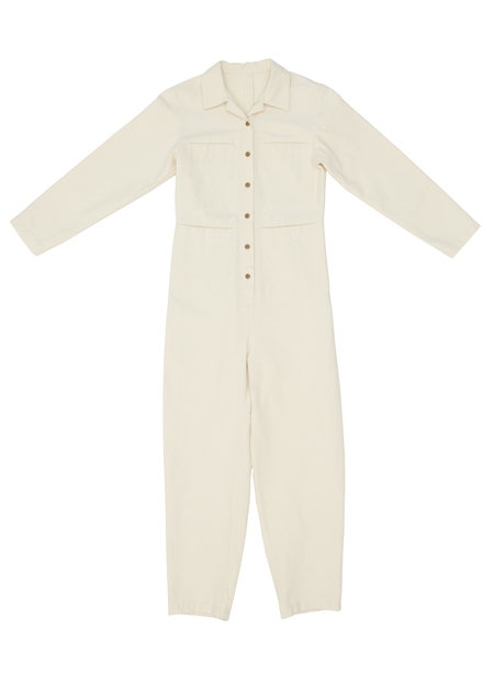 Ilana Kohn Tia Coverall in Natural Canvas