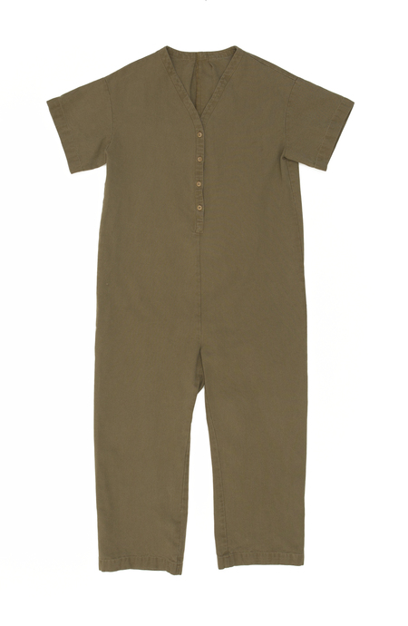 Ilana Kohn Henry Coverall in Umber Canvas
