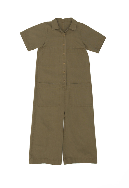 Ilana Kohn Mabel Coverall in Umber Canvas