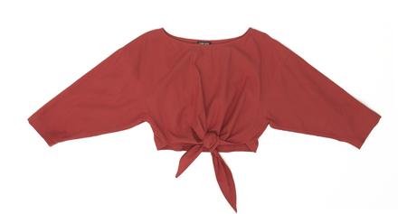 Ilana Kohn Gina Shirt in Cherry Twill