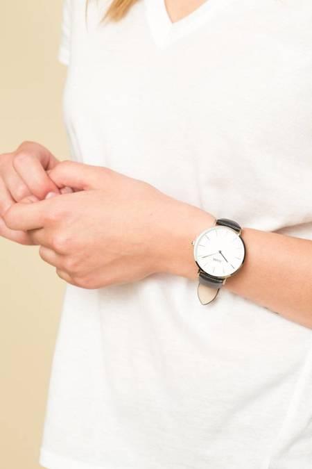CLUSE La Boheme Watch - Silver White/Midnight