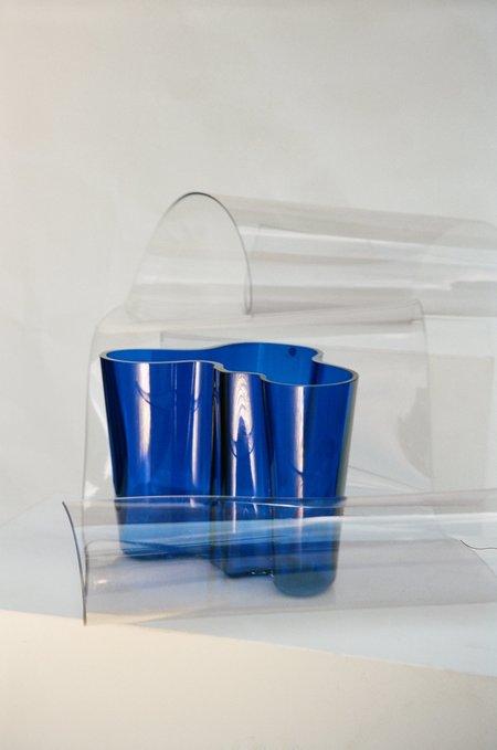 Sincerely, Tommy Alvaro Aalto Vase - Blue
