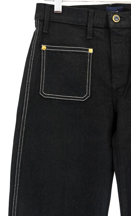 Khaite Noah Patch Pocket Cropped Pant