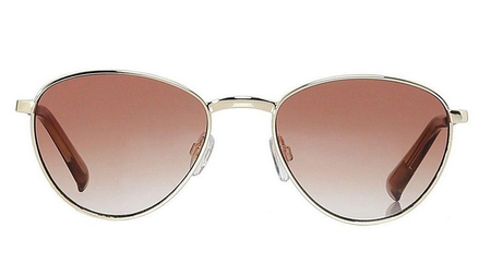 Le Specs Hot Stuff Sunglasses - Bright Gold