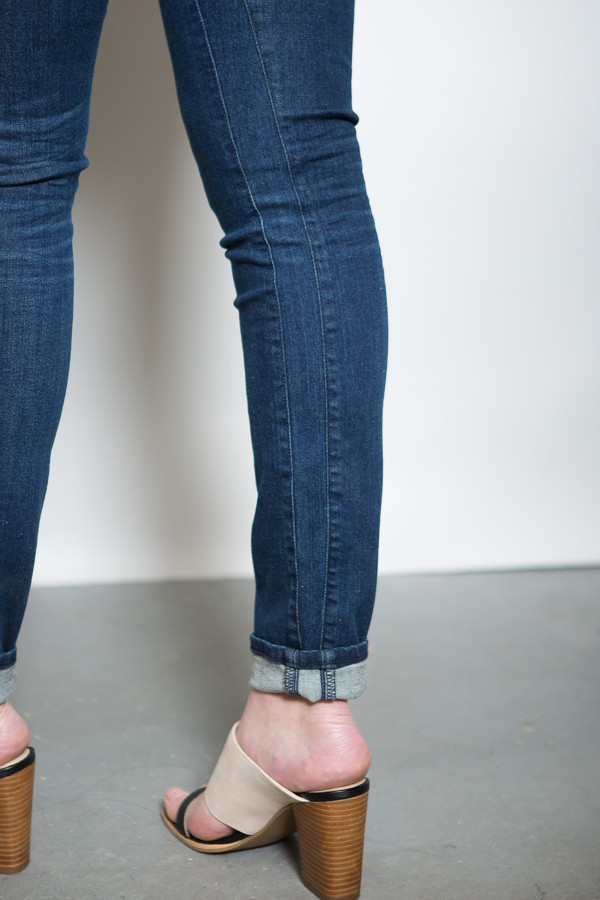 3x1 NYC Channel Seam High-Rise Skinny