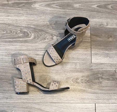 Sol Sana Porter Heel - Dove Suede/Studs