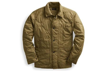 RRL Quilted Chore Jacket - Green