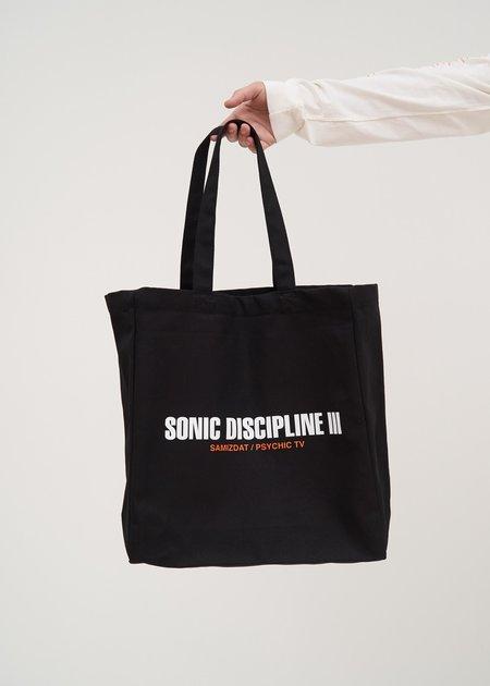Yang Li Sonic Discipline III Tote Bag - Black