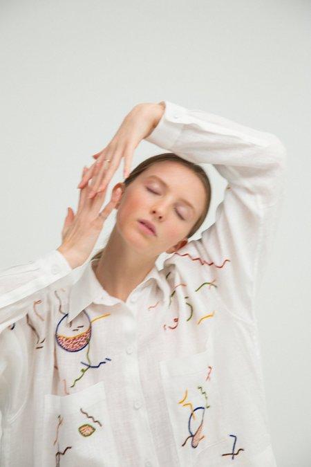 Unisex Sherie Muijs Shirt No. 23 - White