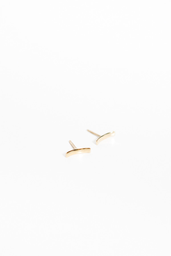 Upper Metal Class Embrace Earrings