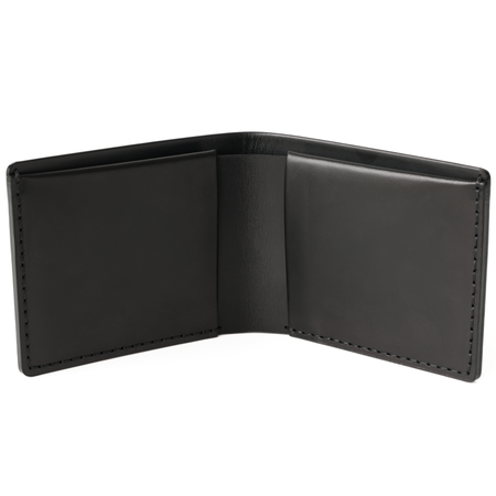 MAKR Landscape Billfold Wallet - Black
