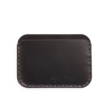 MAKR Round Wallet - Black