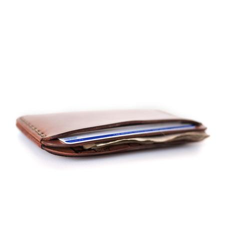 MAKR Round Wallet - Natural
