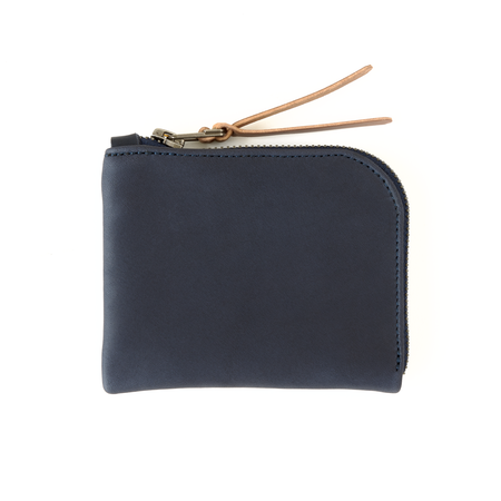 MAKR Zip Luxe Wallet - Midnight Blue