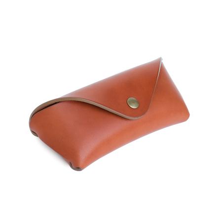 MAKR Tab Eyewear Case - Chestnut