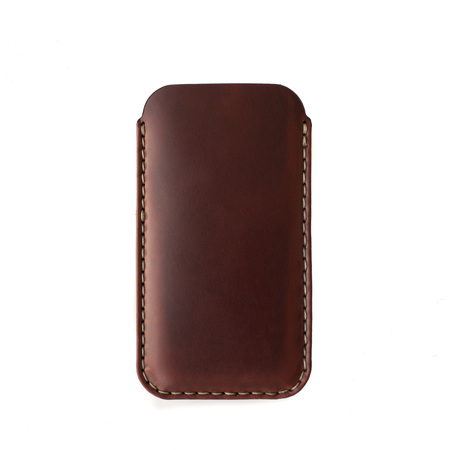 MAKR iPhone Card Sleeve - Oxblood