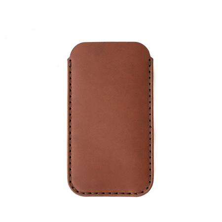 MAKR iPhone / Card Sleeve - SADDLE TAN