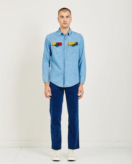 Levi's Vintage Clothing 70s Denim Shirt - Tipper Tone