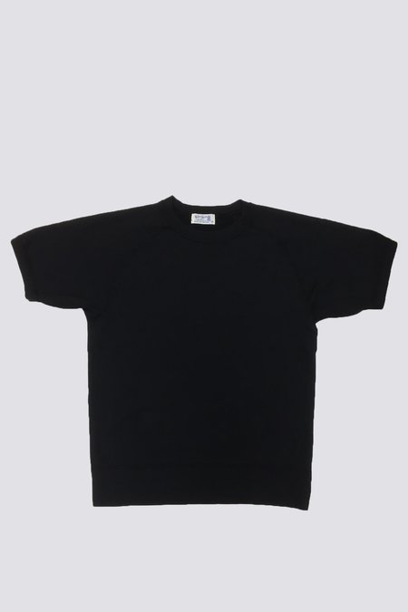 Velva Sheen Short Sleeve Freedom Sweatshirt - Black