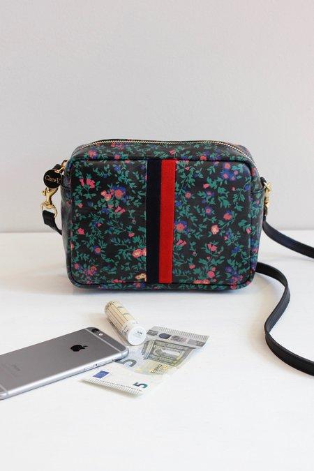 Clare V. Ditsy Floral Desert Stripe Midi Bag