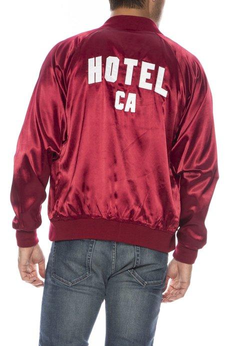 UNISEX HOTEL 1171 Hotel CA Satin Bomber Jacket