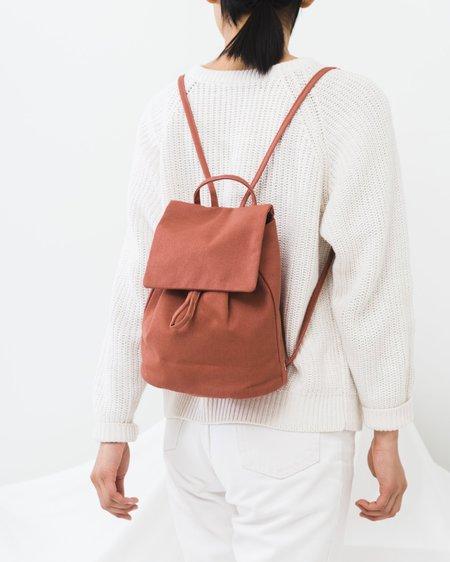 Baggu Canvas Mini Backpack - Terracotta