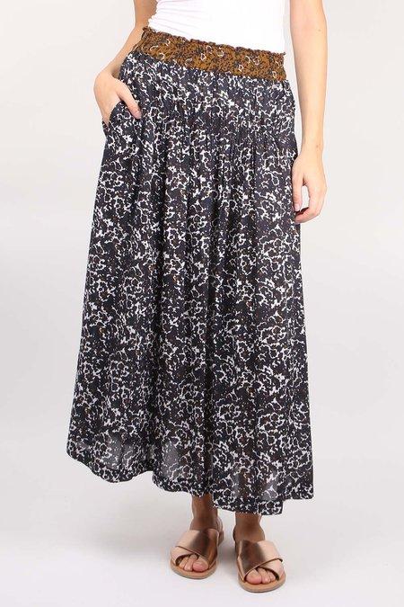 Apiece Apart Elin Shirred Skirt - Multi Floral