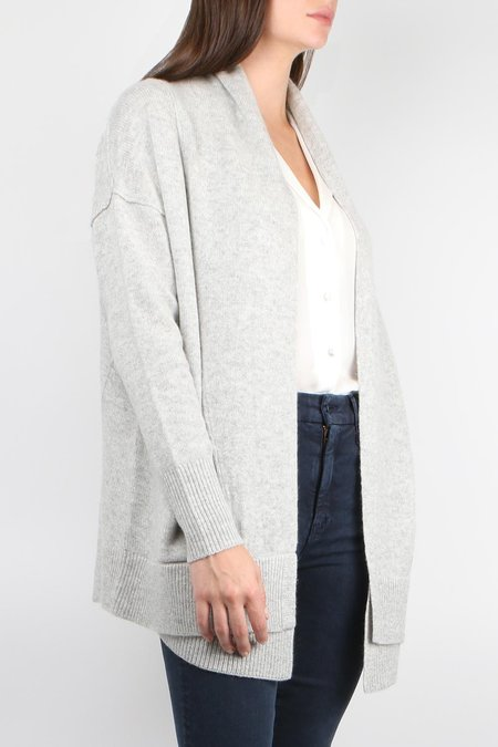 Brochu Walker Ferry Cardigan - Argent Grey