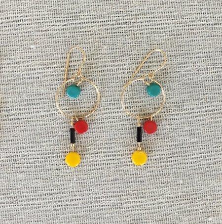 I. Ronni Kappos Primary Hoop Earrings