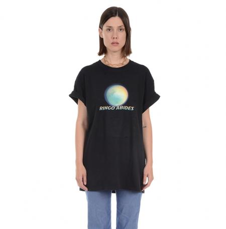 Unisex Lindsey Thornburg Ringo Abides T-Shirt - BLACK