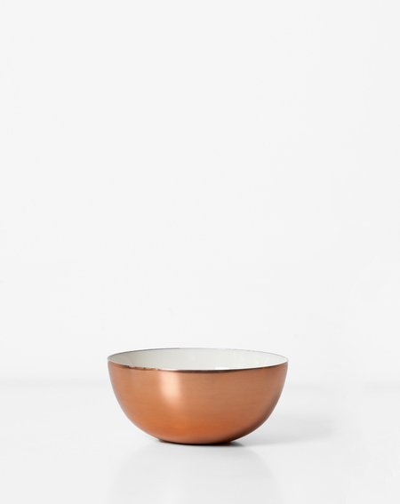 Hawkins New York Small Louise Copper and Enamel Bowl