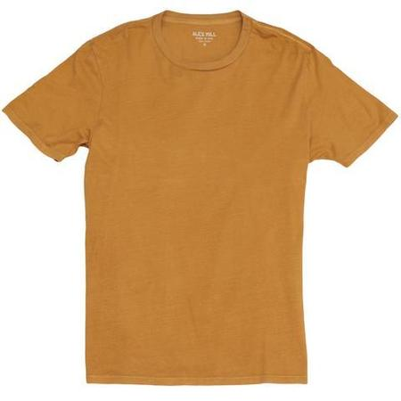 Alex Mill Standard Cotton Jersey Tee - Mustard