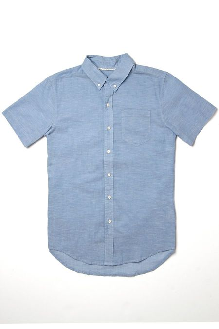 Bridge & Burn Jordan Shirt - Summer Chambray Light Blue