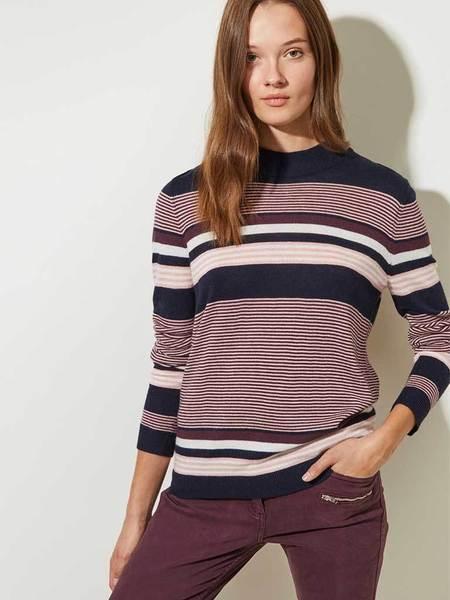 Great Plains Multi Stripe Knit - Blush