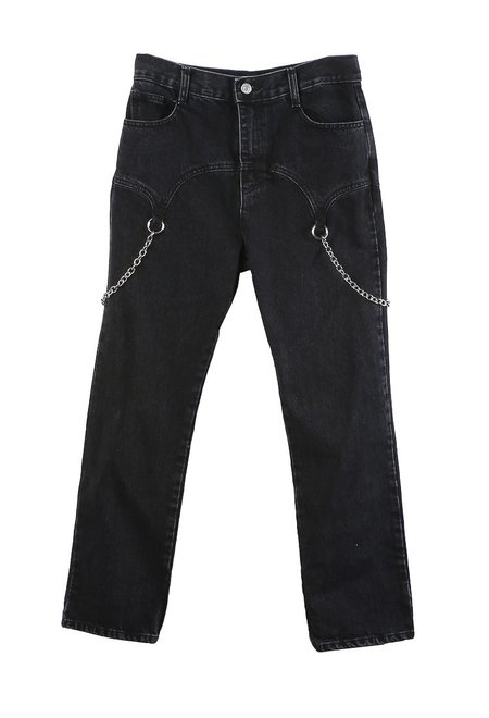 Sandy Liang Mark Jeans - Black
