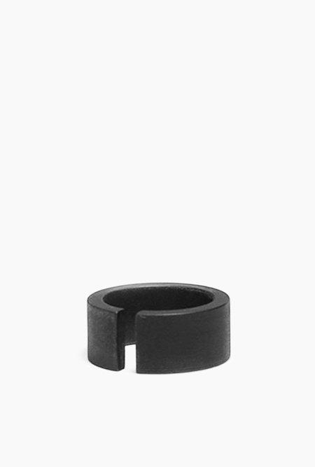 Marmol Radziner Heavyweight Cut Wide Ring - BRASS DARK