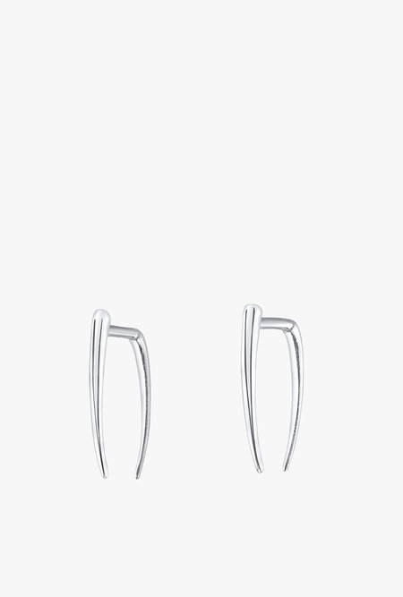 Gabriela Artigas Infinite Tusk Earring Set - STERLING SILVER