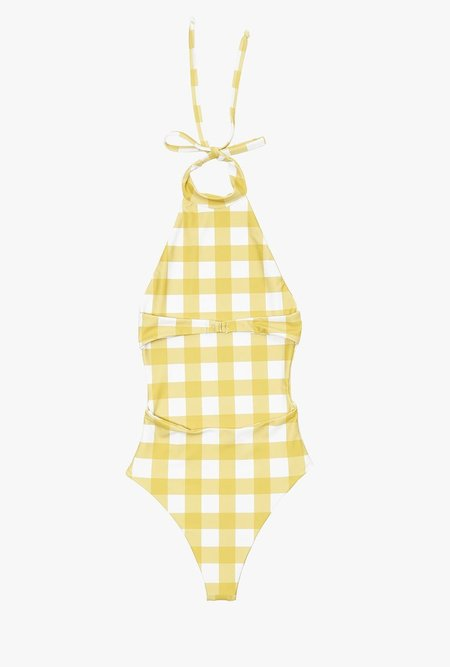 Midsommar Mather One Piece SWIMSUIT - Gingham